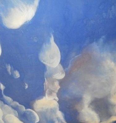 Backdrop 828 Blue Sky With Clouds 22'X9'