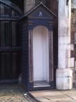 Buckingham Palace's Sentry Boxes