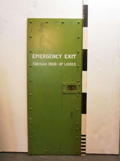 1301008 Emergency Exit Doors ( 195cm x 77 ) x 7 off & Submarine Doors Archives - Stockyard Prop and Backdrop Hire