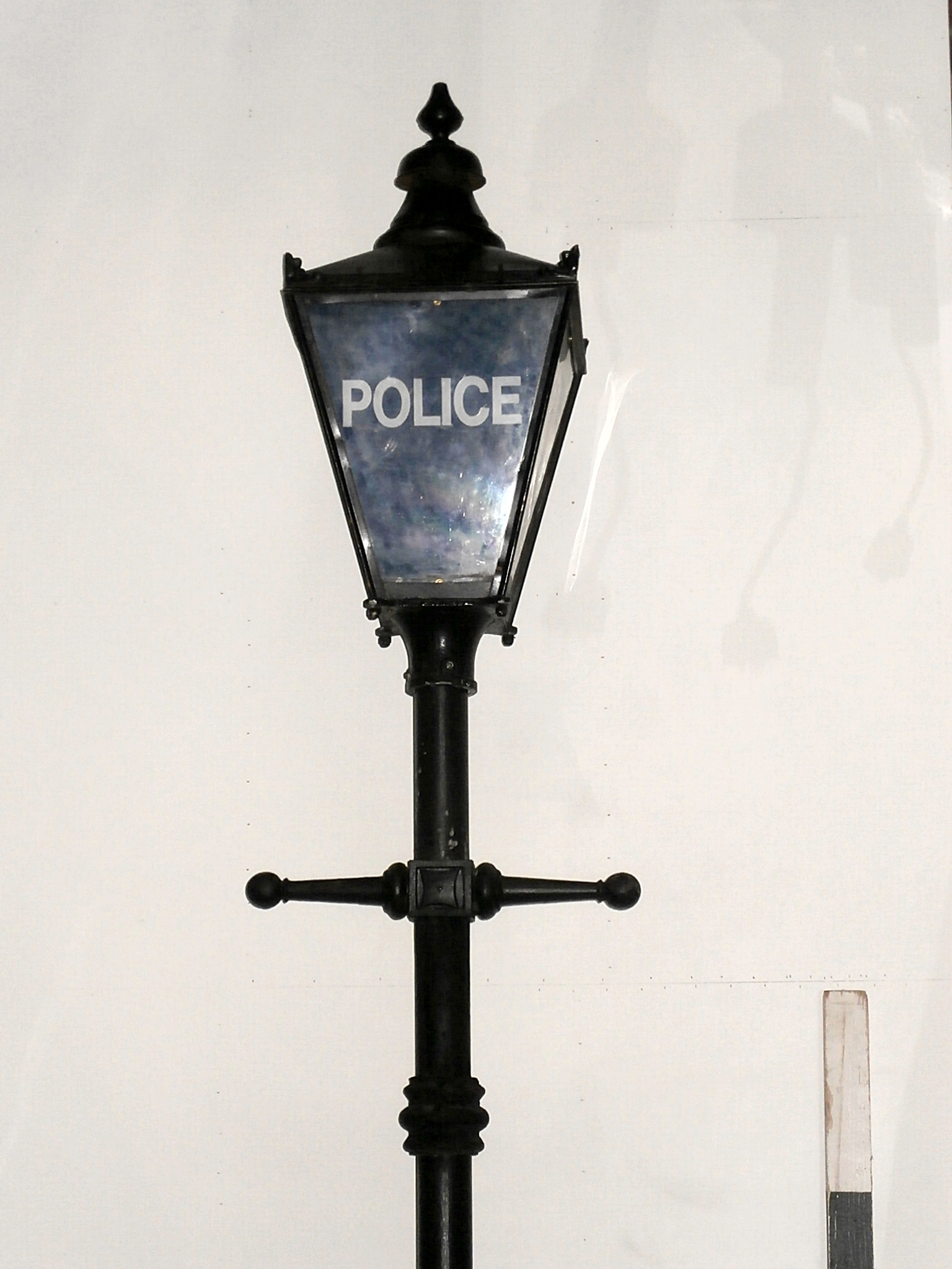 2500073 Victorian Police Street Lamp H 3800mm X 1off
