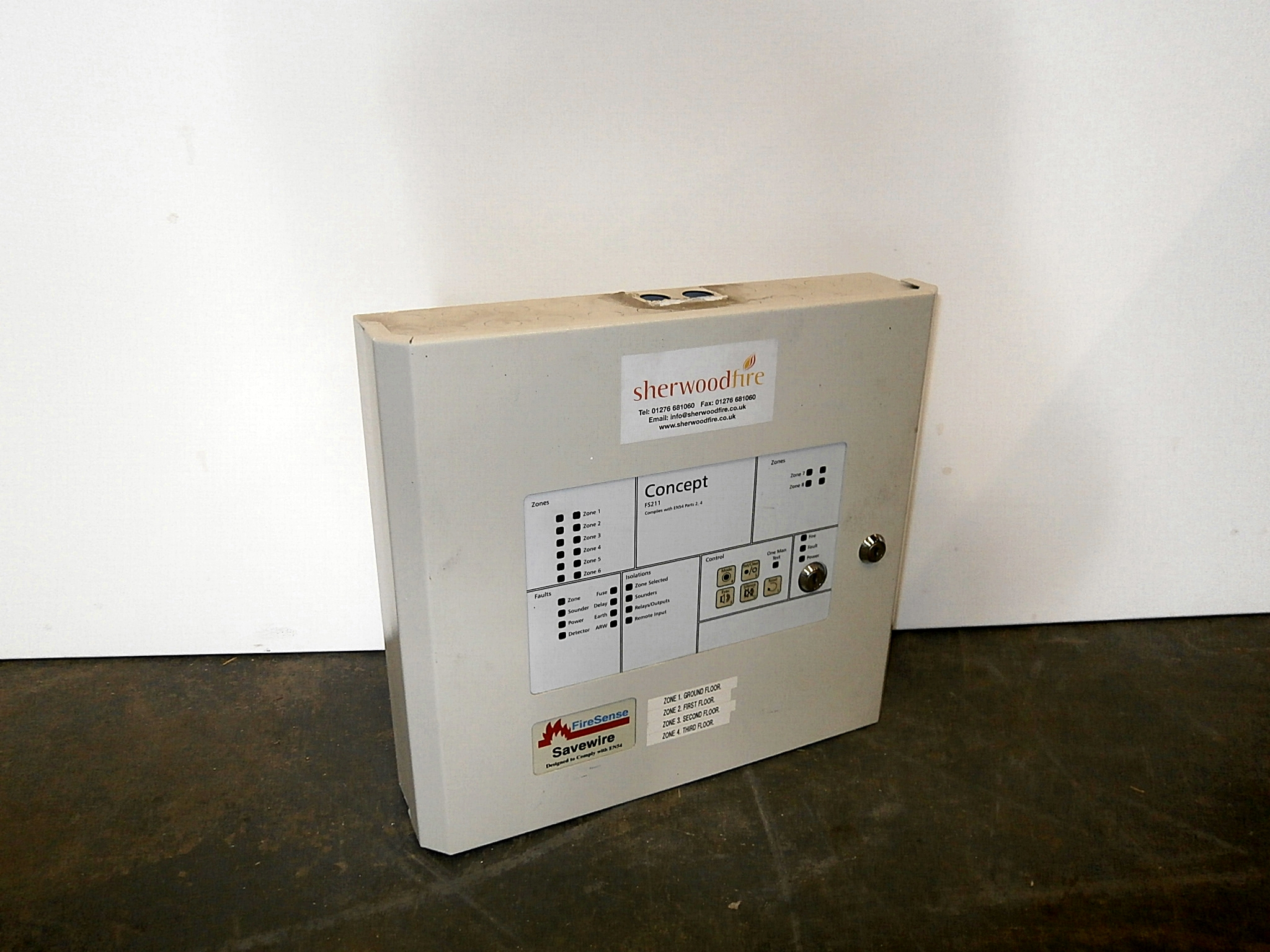 0310129 modern fuse box ( h 33cm x 36 x 9 ) x 1off - stockyard prop and  backdrop hire