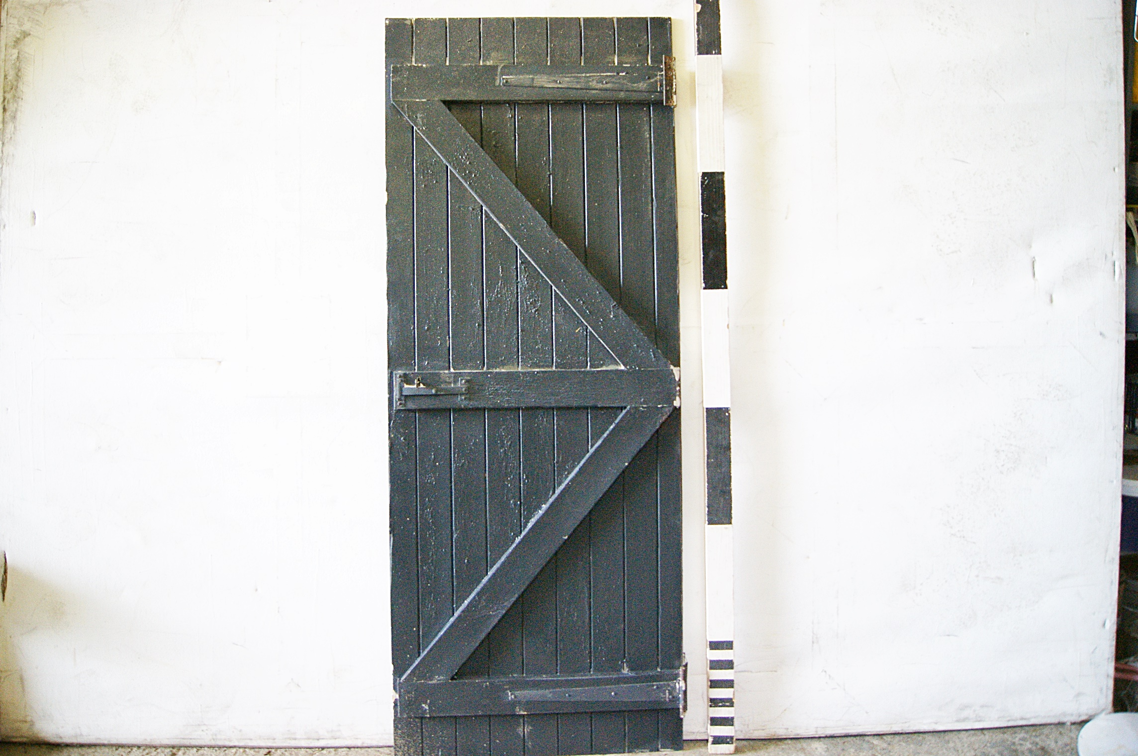 1100067 Wood Ledge And Brace Slatted Door ( H 195cm x 76 ) x 10off & Doors Archives - Stockyard Prop and Backdrop Hire