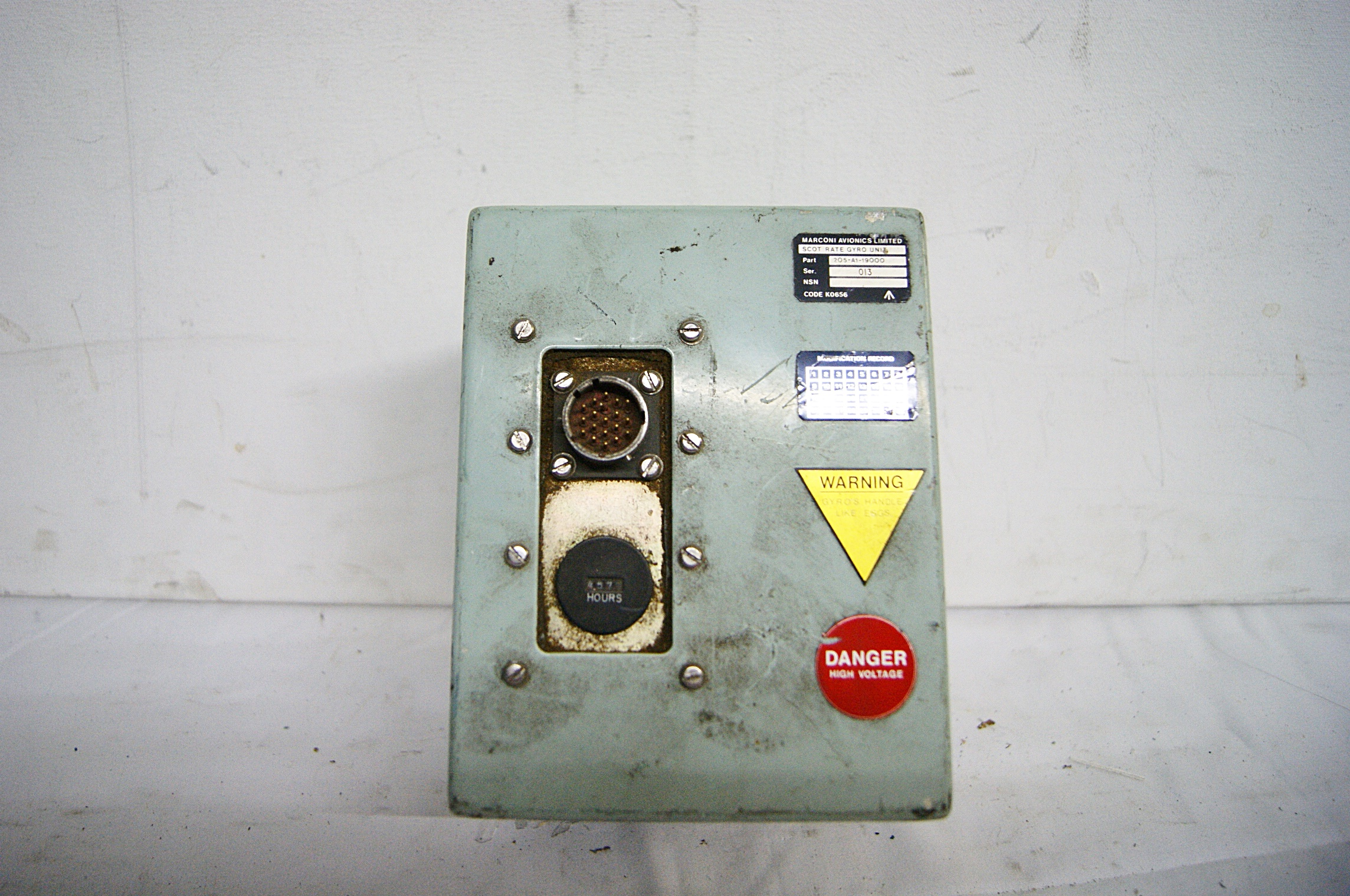 Fuse Box Prop Wiring Library G35 6810150 Submarine Control Room H 20cm X 13 14