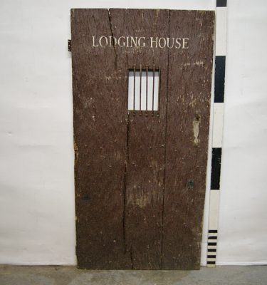 0780104 Wooden Prison Door With Small Four Bar Window ( H 184cm x 94 ) & Prison Doors Archives - Stockyard Prop and Backdrop Hire