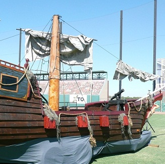 Ship Props at Sea